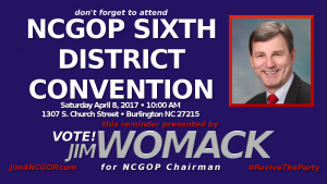 NCGOP Sixth District Convention
