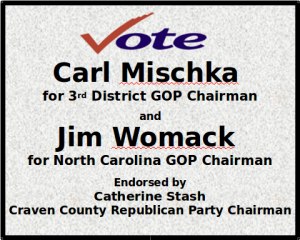 Catherine Stash Endorses Womack, Mischka